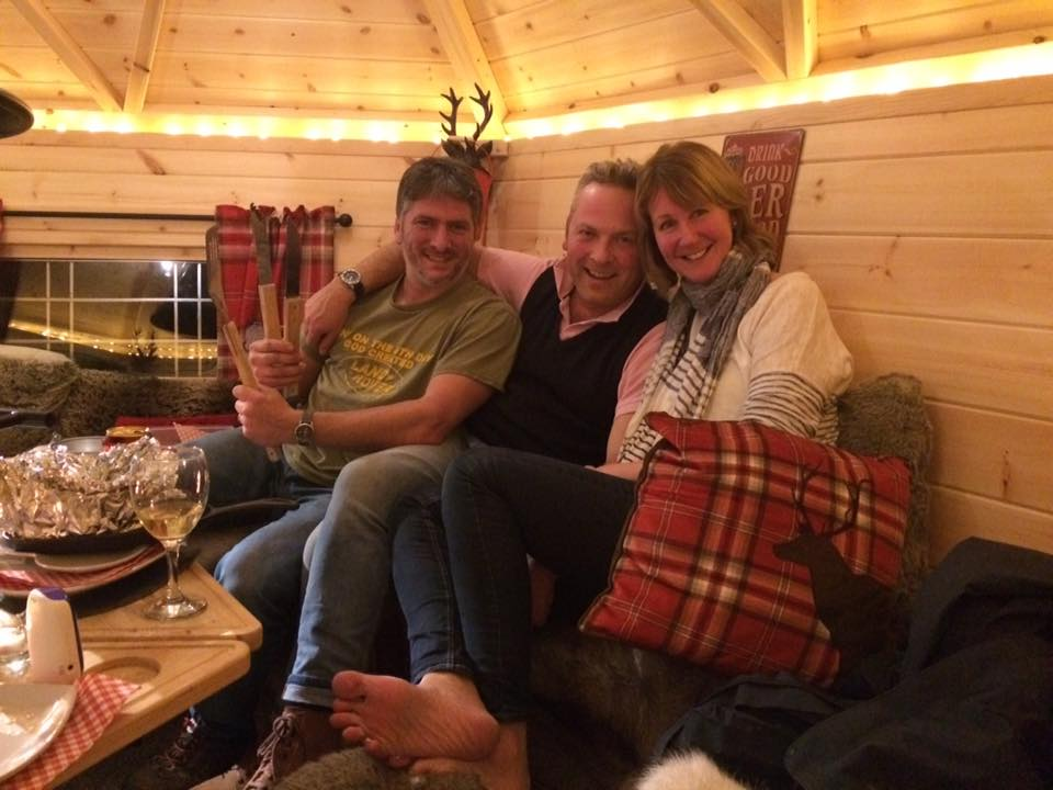 Jules Hudson Quot Escapes To The Country Quot Brechfa Forest Barns